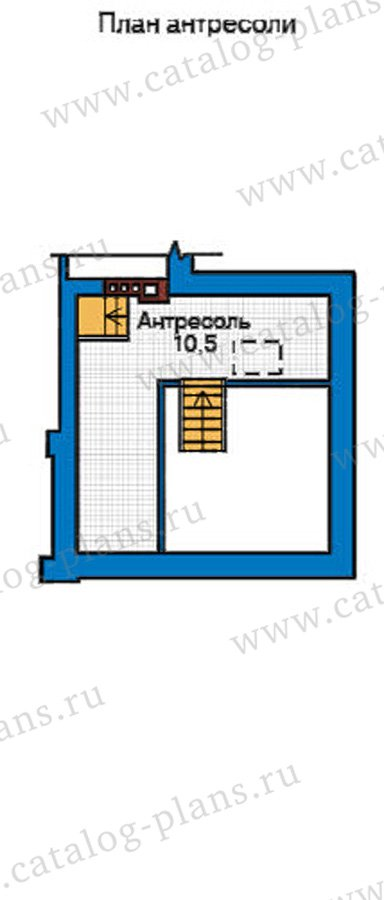 План 3-этажа проекта 31-91