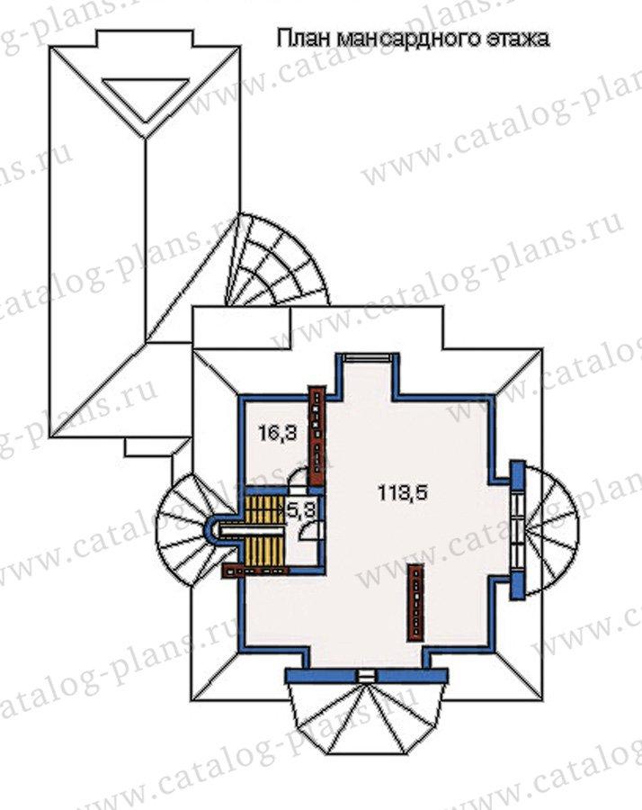 План 4-этажа проекта 35-24