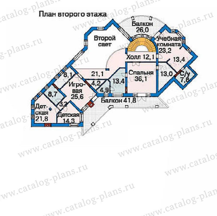 План 3-этажа проекта 36-10