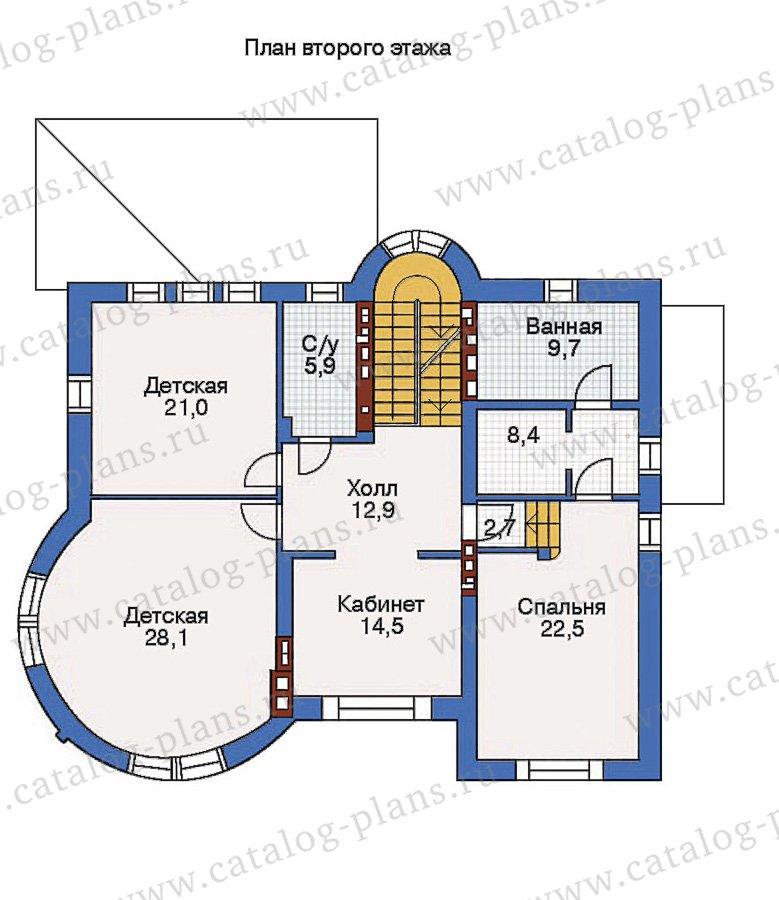 План 3-этажа проекта 36-17
