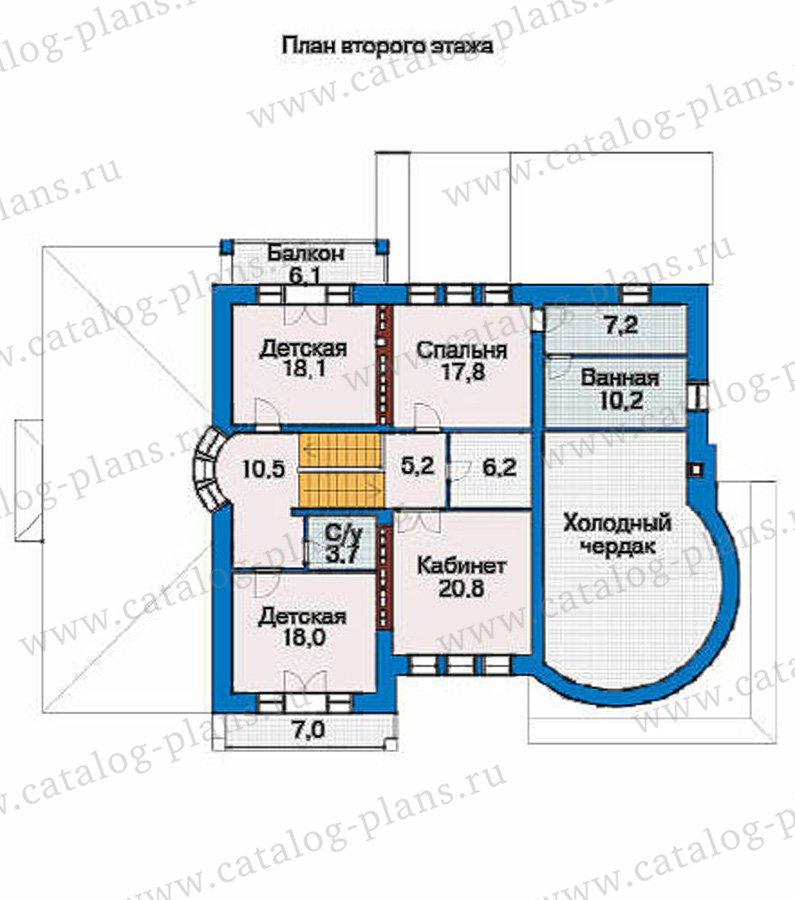 План 3-этажа проекта 36-19