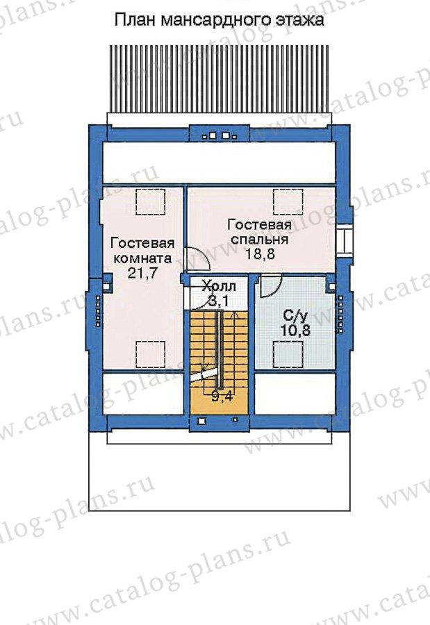 План 4-этажа проекта 35-90
