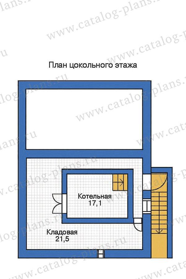 План 1-этажа проекта 35-29