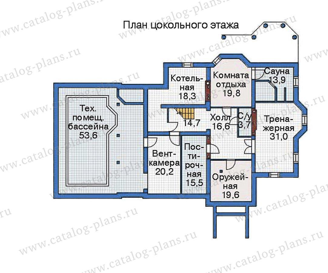 План 1-этажа проекта 35-81