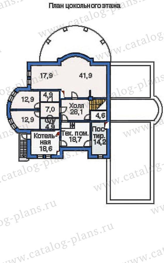 План 1-этажа проекта 36-20