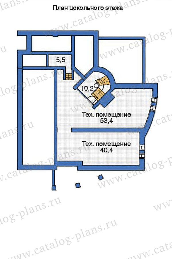 План 1-этажа проекта 36-12