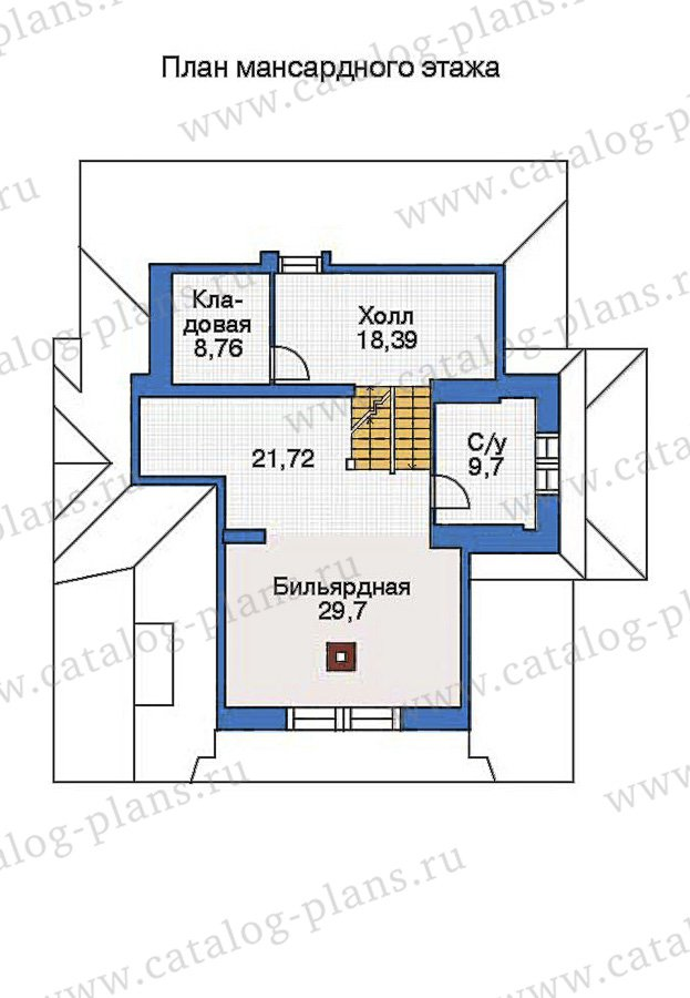План 3-этажа проекта 36-15