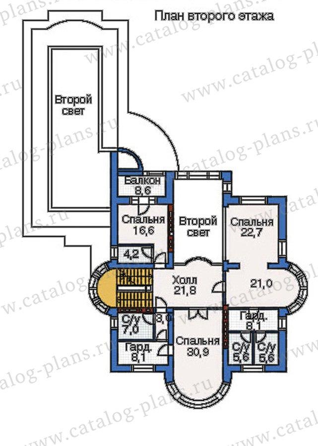 План 3-этажа проекта 35-24