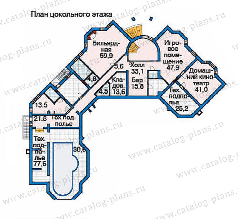 План 1-этажа проекта 36-10