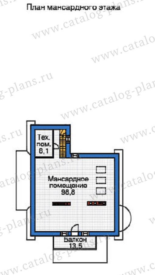 План 4-этажа проекта 37-62