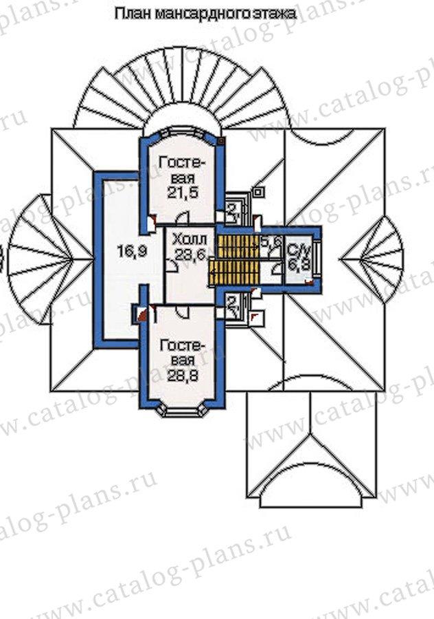 План 4-этажа проекта 36-20