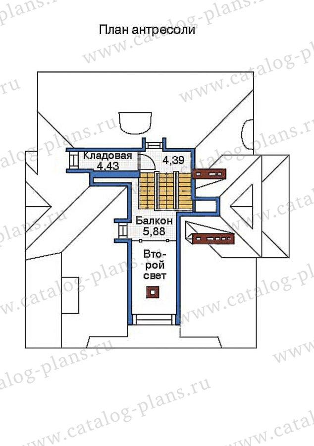 План 4-этажа проекта 36-15