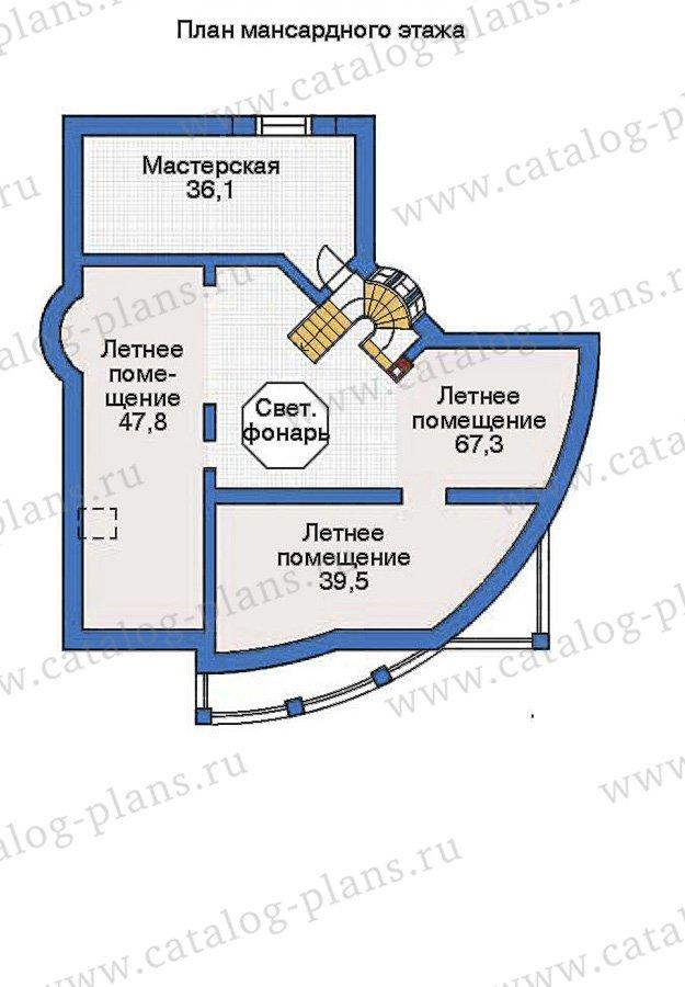 План 4-этажа проекта 36-12
