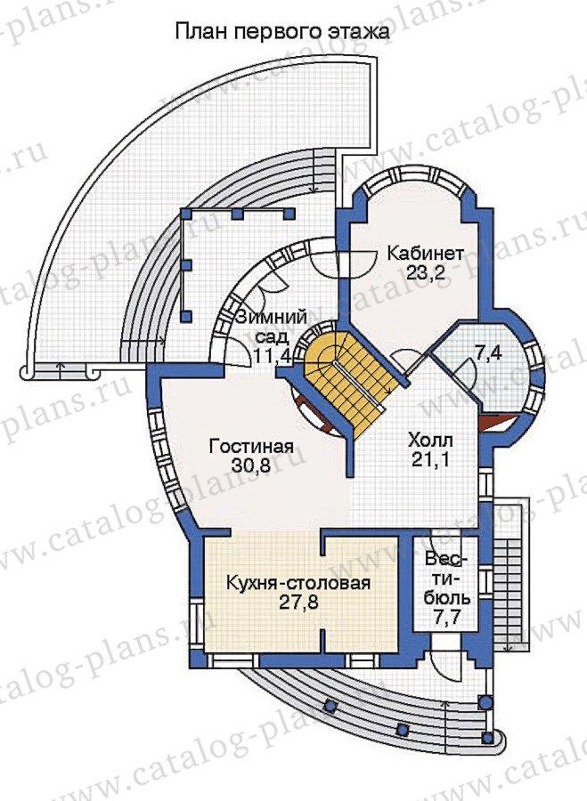 План 2-этажа проекта 36-16