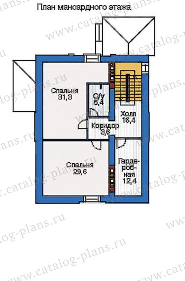 План 4-этажа проекта 37-61