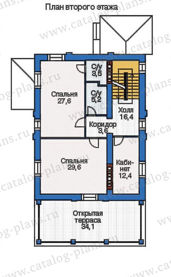 План 3-этажа проекта 37-61