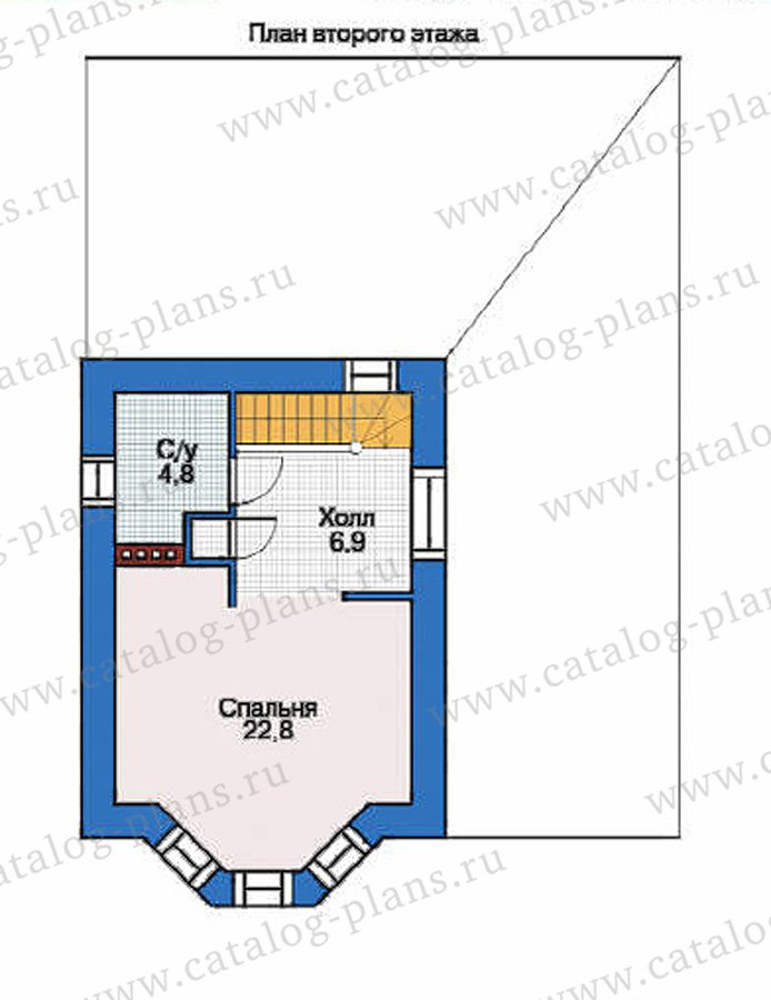 План 3-этажа проекта 53-70