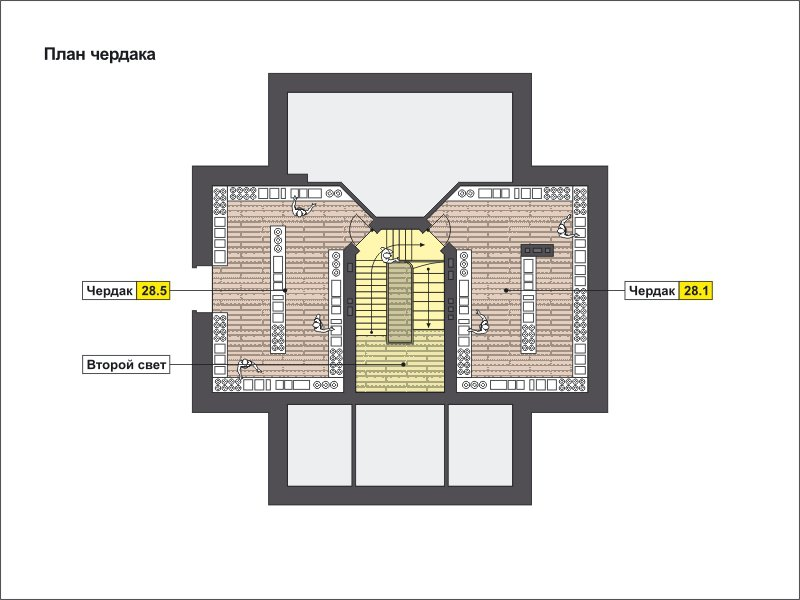 План 4-этажа проекта 59-78B