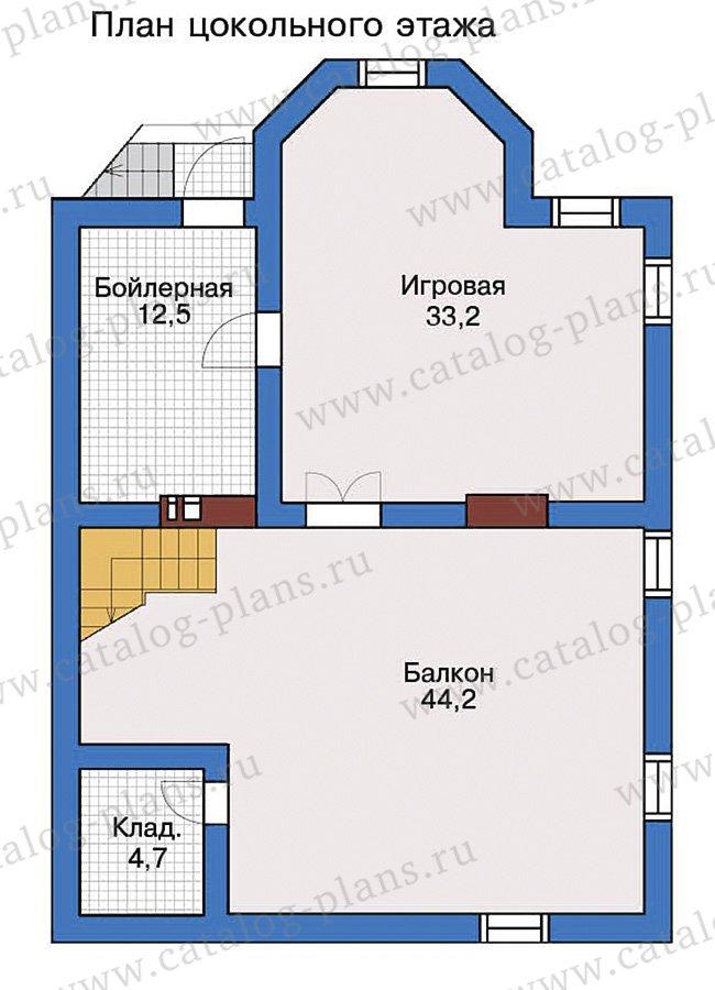 План 1-этажа проекта 57-32
