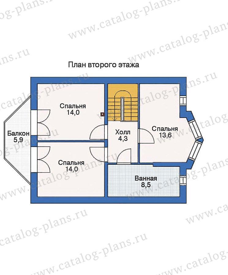 План 3-этажа проекта 53-05