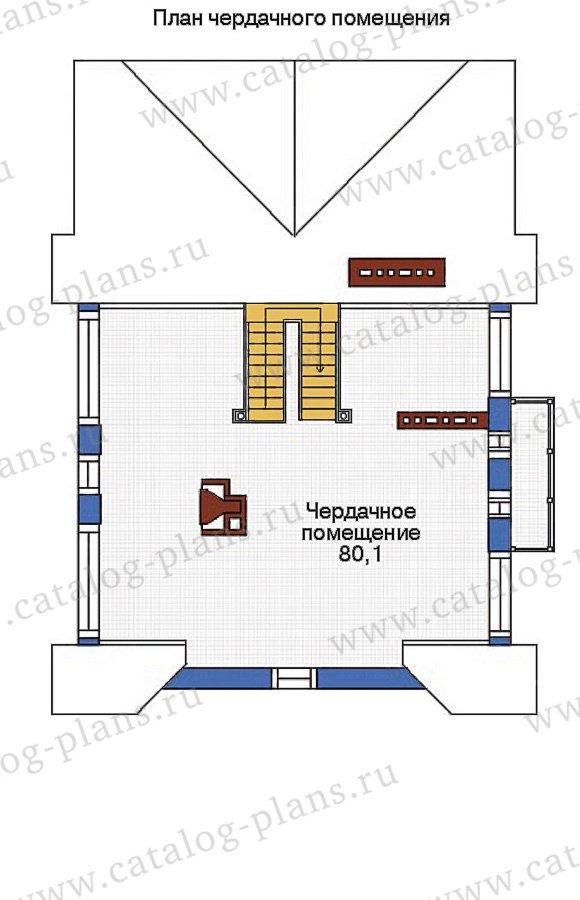 План 4-этажа проекта 53-74