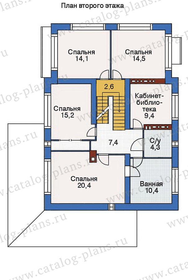 План 3-этажа проекта 53-74