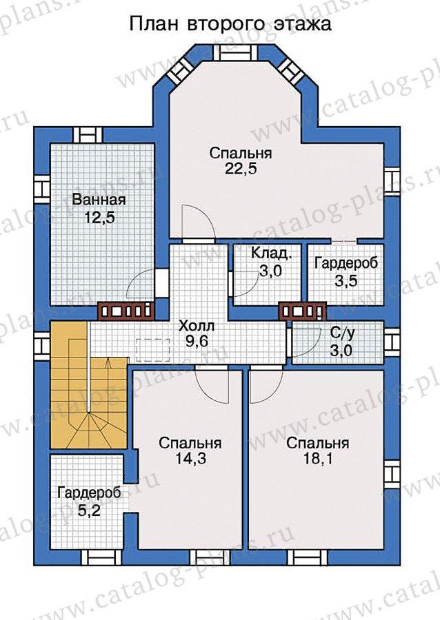 План 3-этажа проекта 57-32
