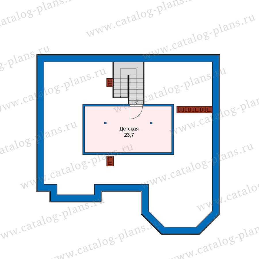 План 4-этажа проекта 40-11AG