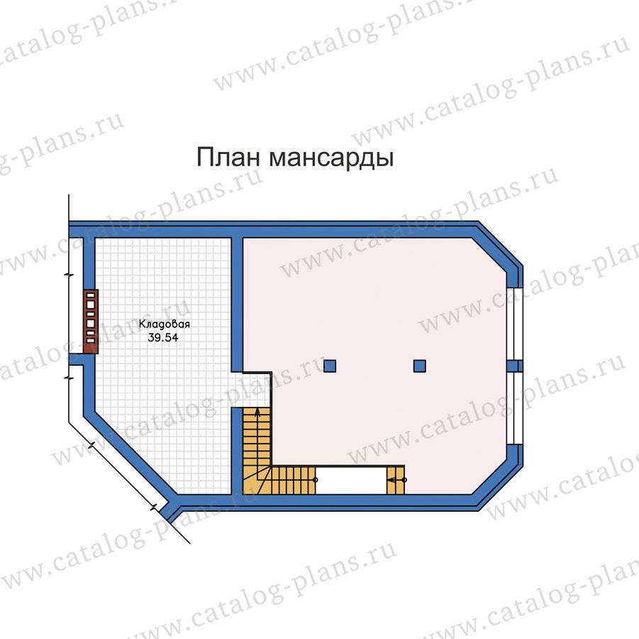 План 3-этажа проекта 58-32L