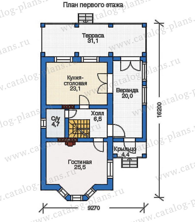 План 2-этажа проекта 37-78