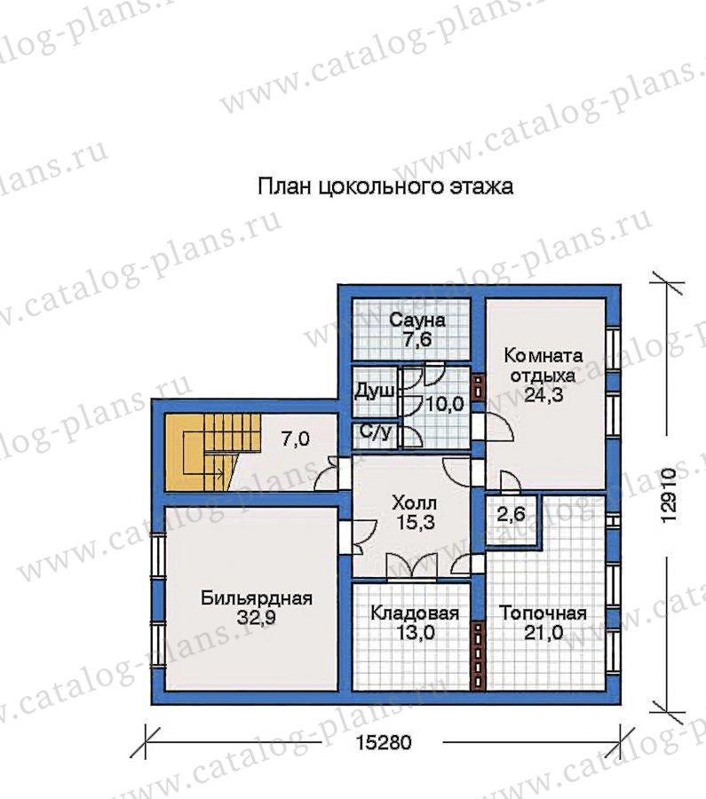 План 1-этажа проекта 50-81