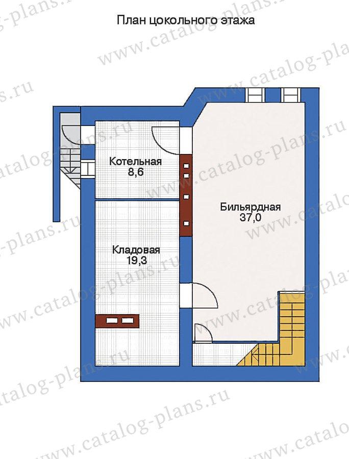 План 1-этажа проекта 51-07