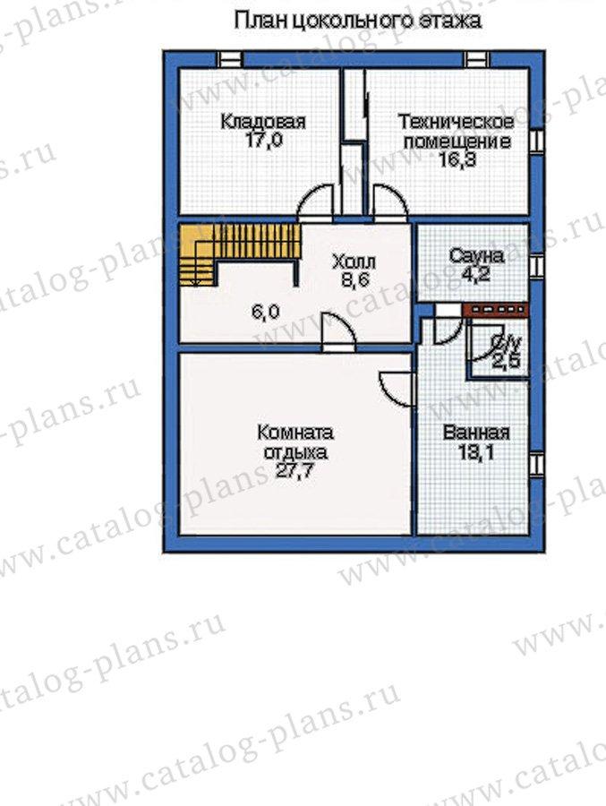 План 1-этажа проекта 50-01