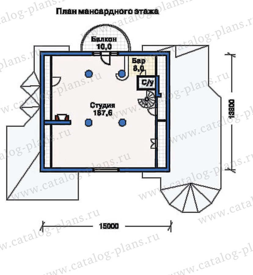 План 3-этажа проекта 51-35