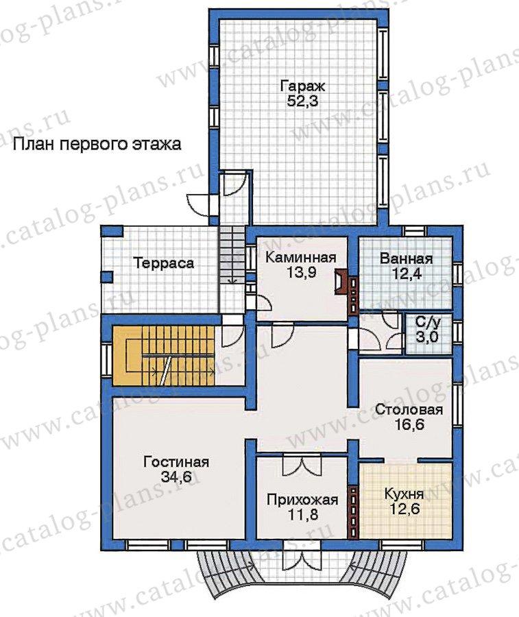 План 2-этажа проекта 50-81