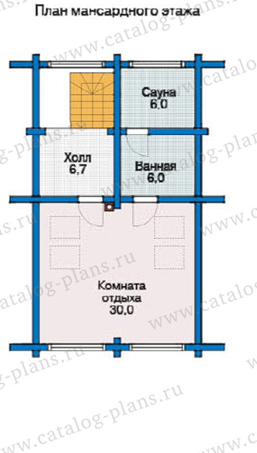 План 3-этажа проекта 12-01