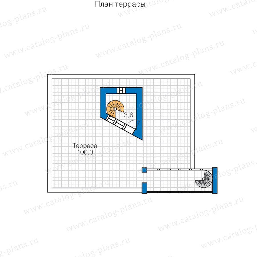 План 3-этажа проекта 47-56