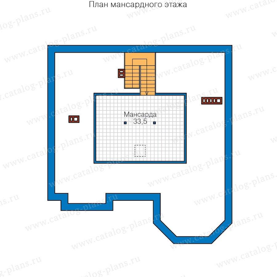 План 3-этажа проекта 40-53