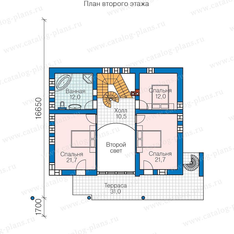 План 2-этажа проекта 47-56