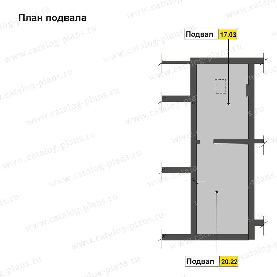 План 3-этажа проекта 47-57