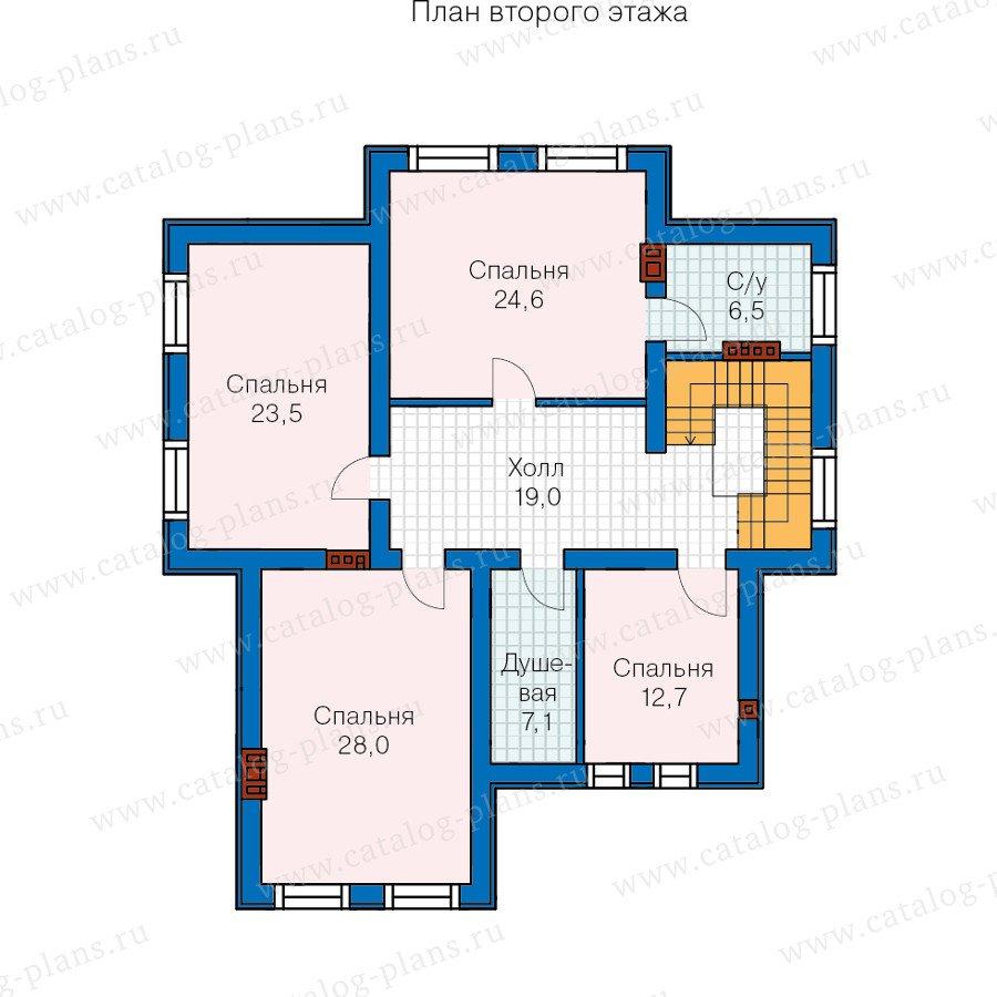 План 3-этажа проекта 59-86L