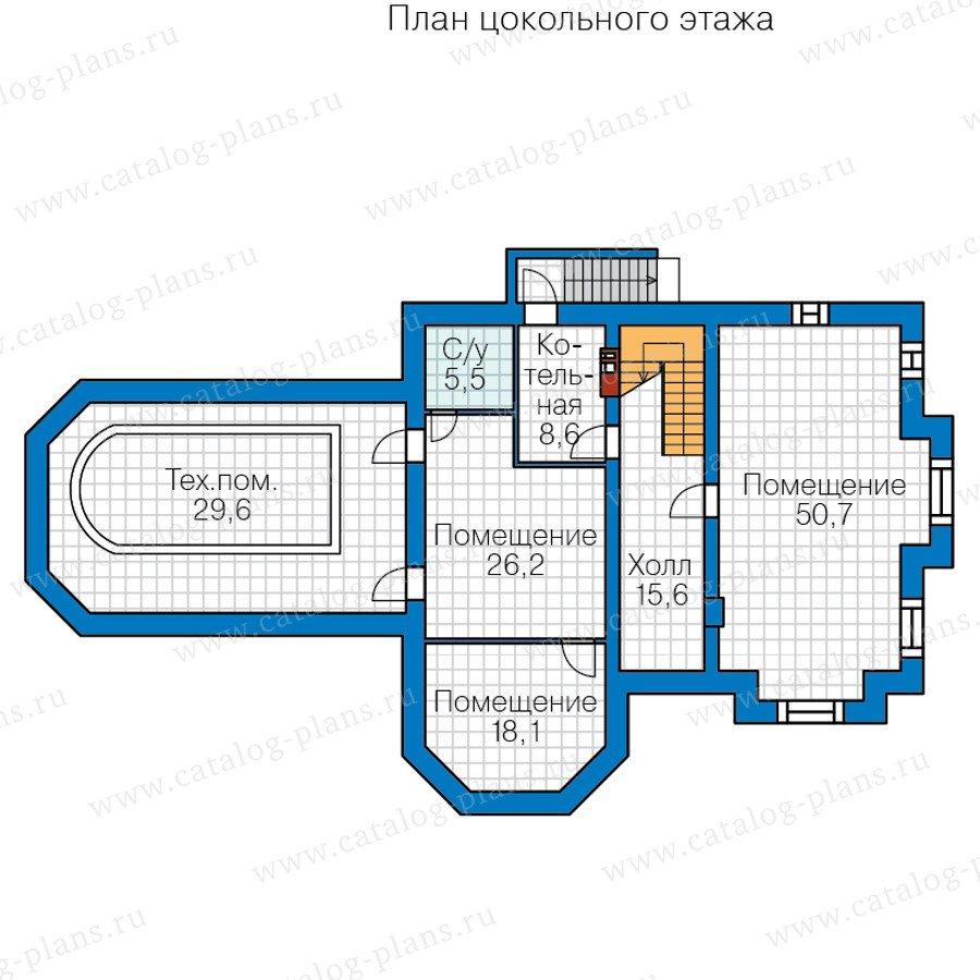 План 1-этажа проекта 40-11P