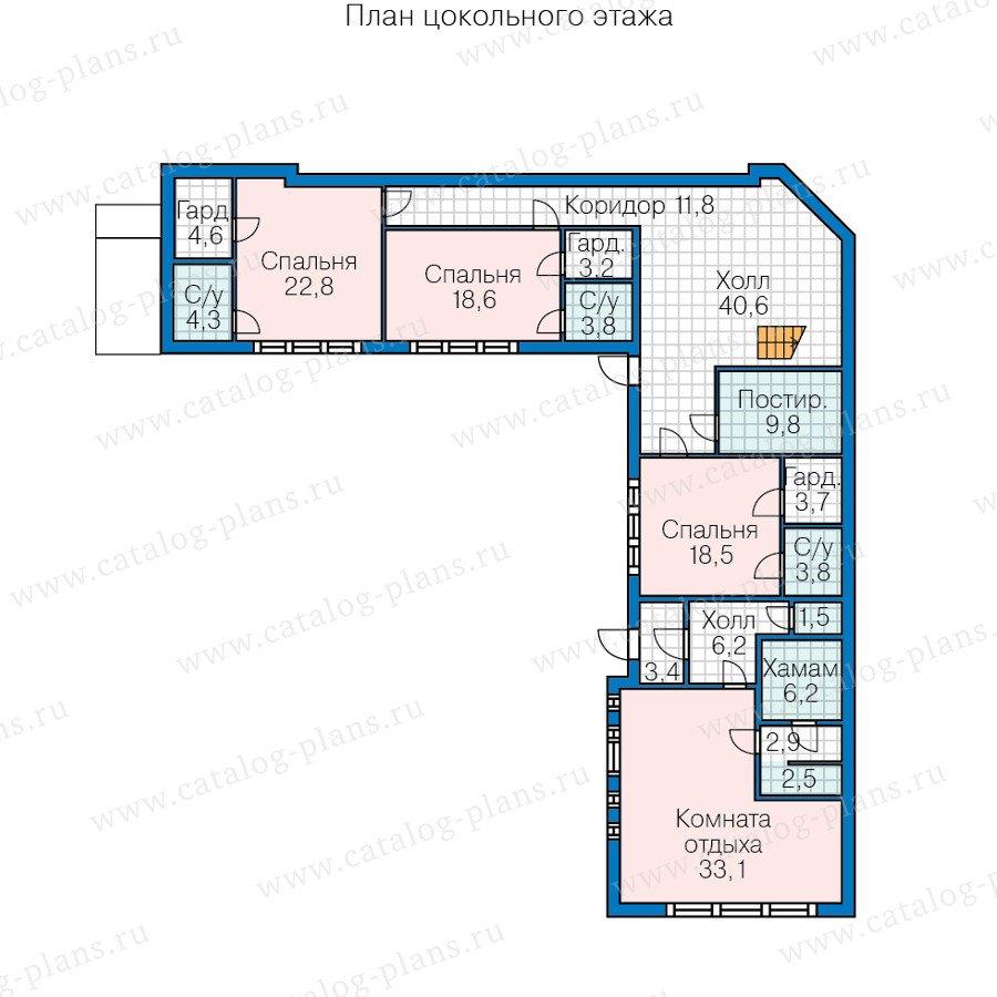 План 1-этажа проекта 60-91