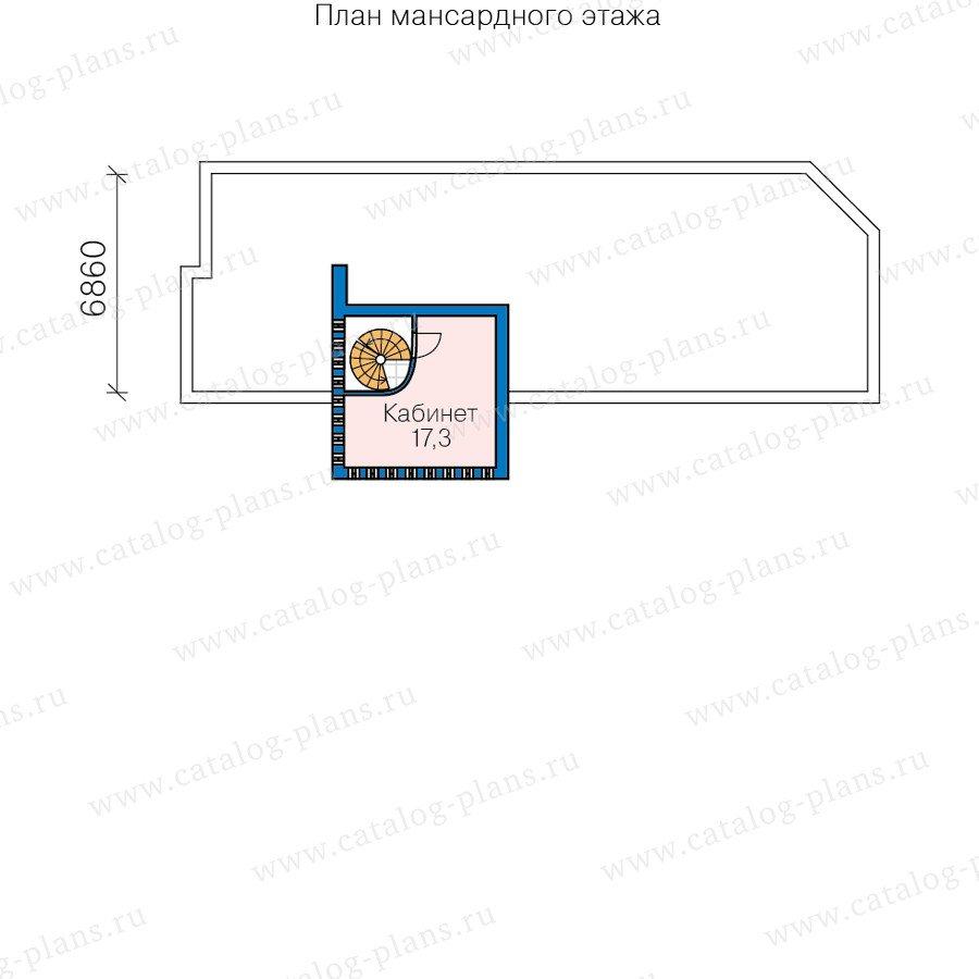 План 3-этажа проекта 60-91