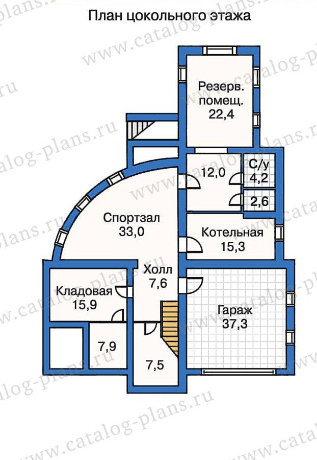 План 1-этажа проекта 50-23