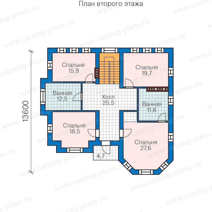 План 3-этажа проекта 58-71