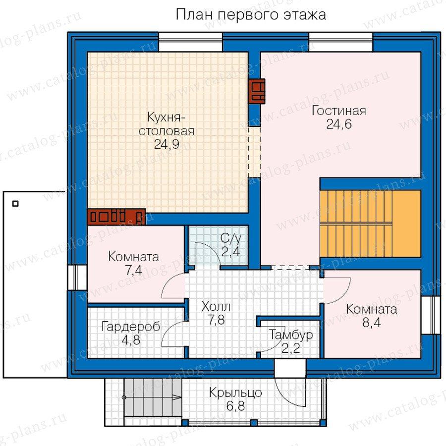 План 2-этажа проекта 57-11A