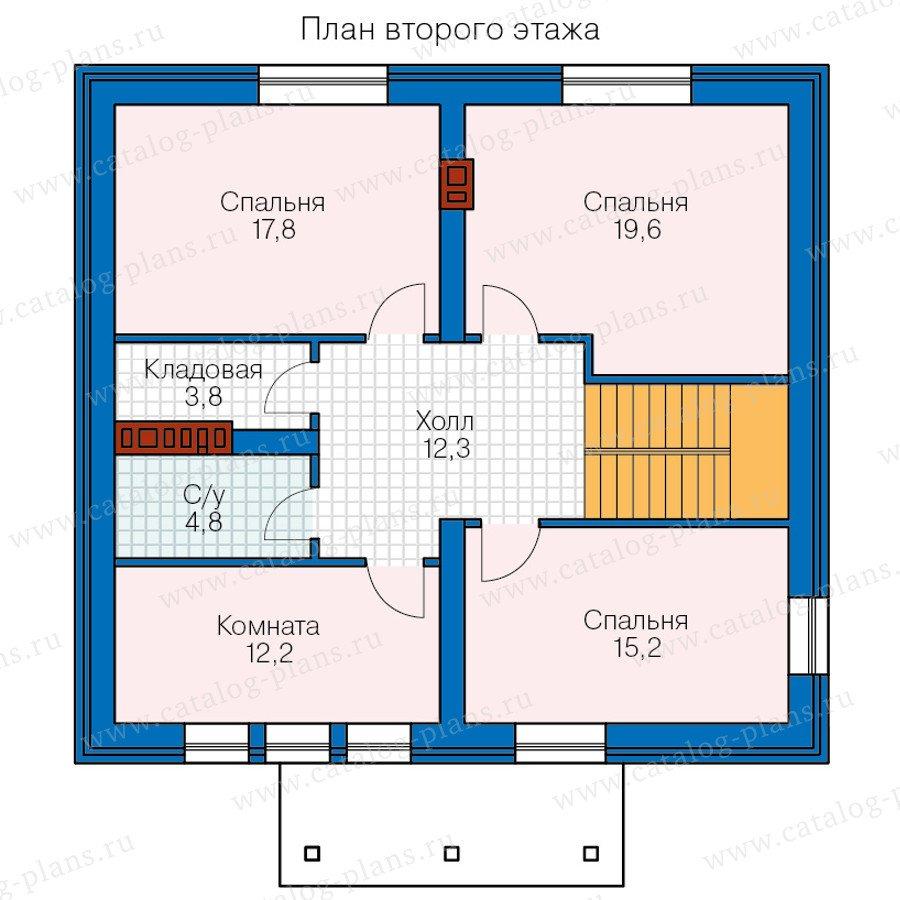 План 3-этажа проекта 57-11A