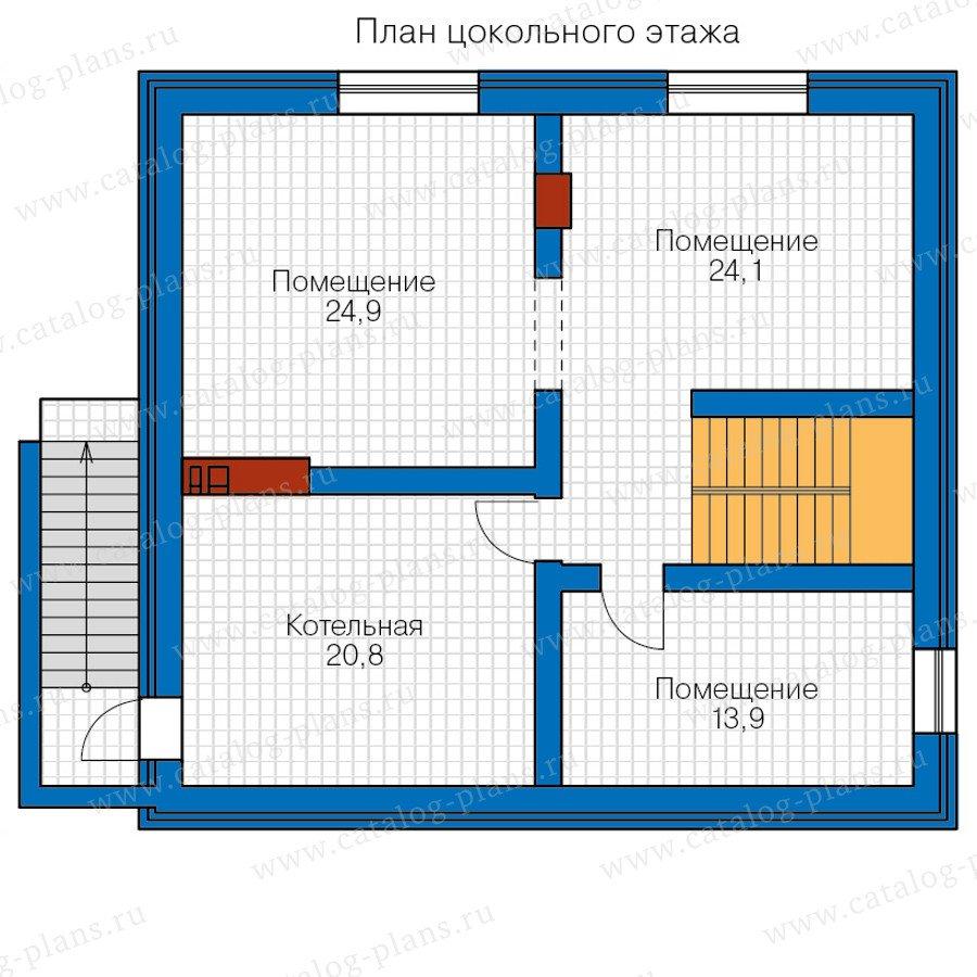 План 1-этажа проекта 57-11A