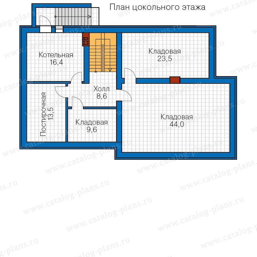 План 1-этажа проекта 57-49A